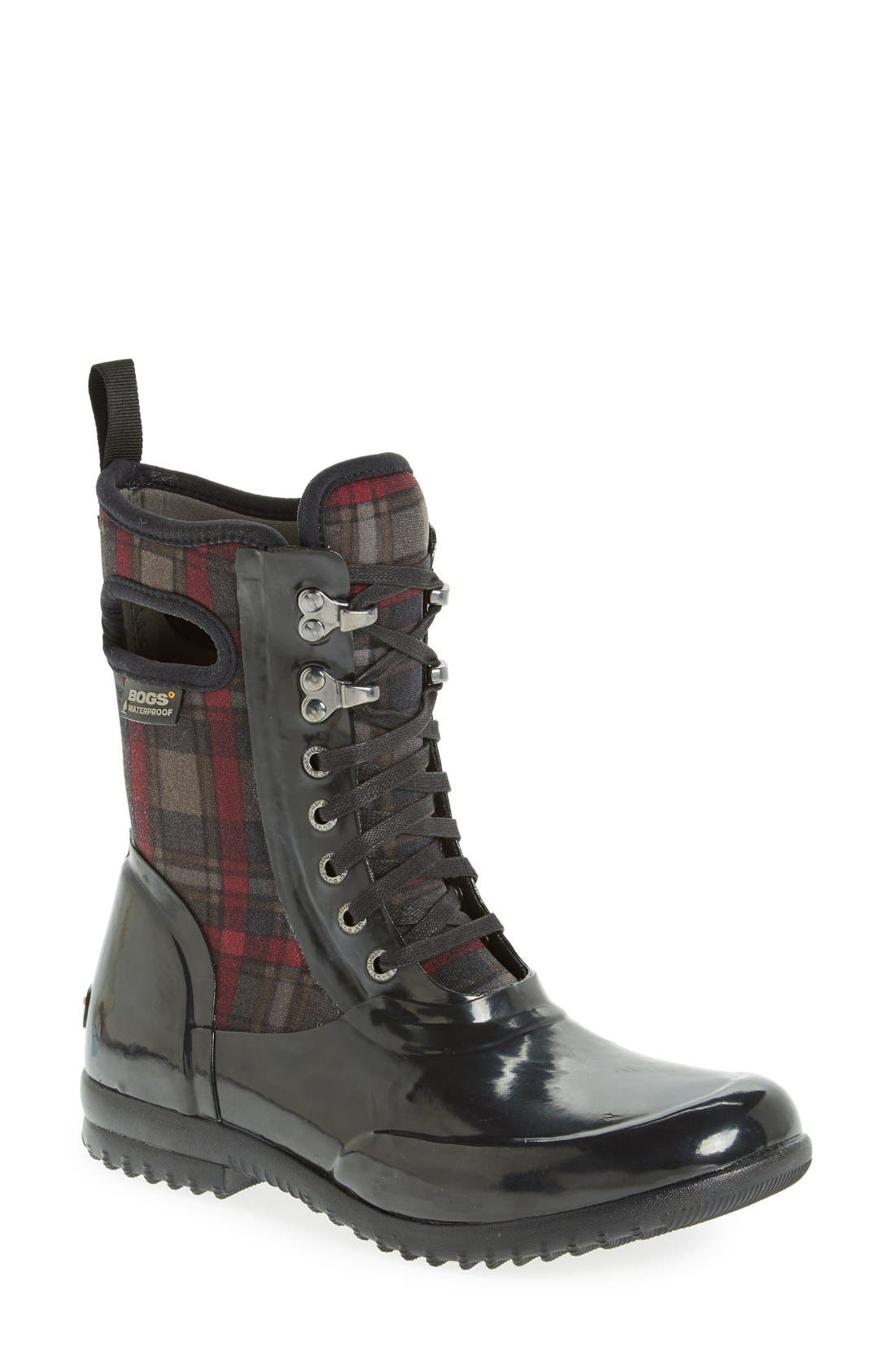 Bogs 'Sidney' Tall Waterproof Lace-Up Boot (Women)