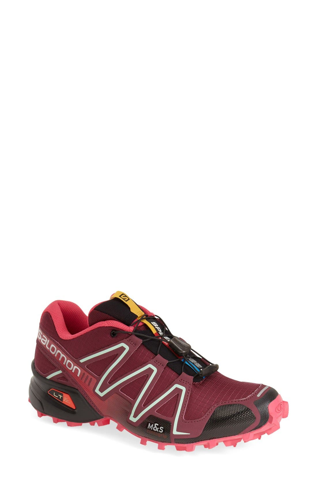 Alternate Image 1 Selected - Salomon 'Speedcross 3' Water Resistant Trail Running Shoe