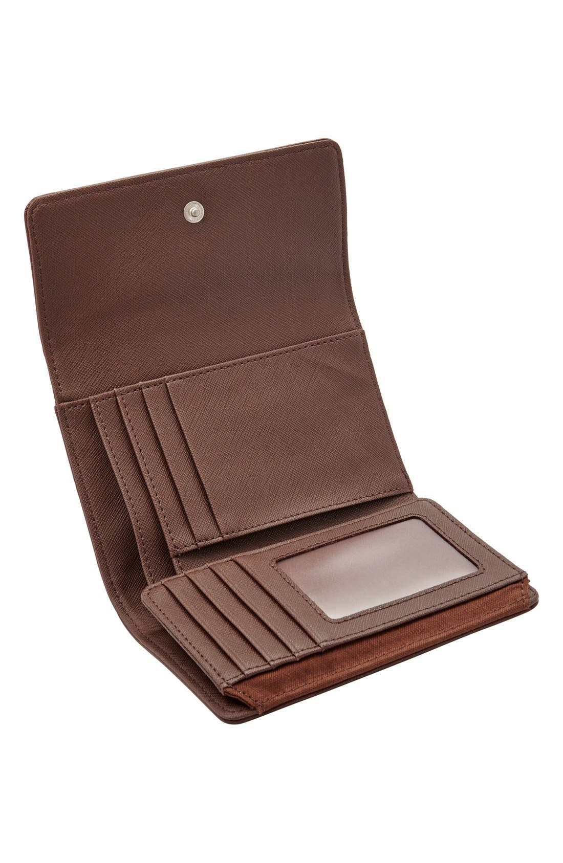 Alternate Image 2  - Fossil 'Dawson' Flap Wallet