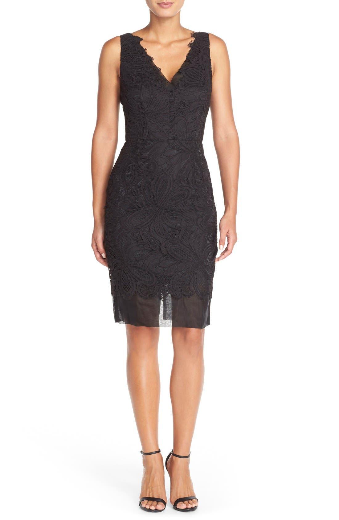Alternate Image 6  - Trina Turk 'Agni' Lace Sheath Dress