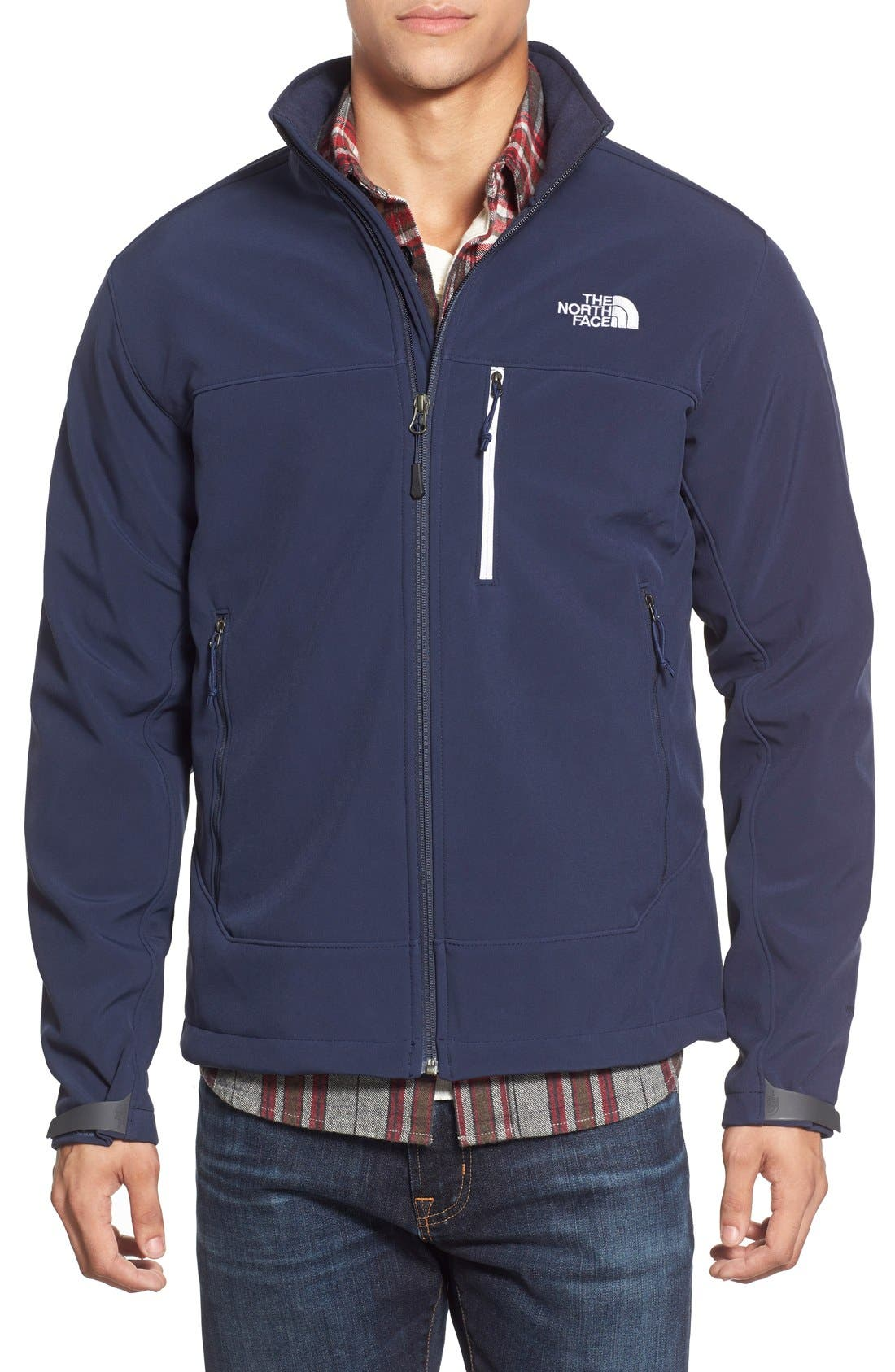 Alternate Image 1 Selected - The North Face 'Apex Bionic' ClimateBlock™ Windproof & Water Resistant Softshell Jacket