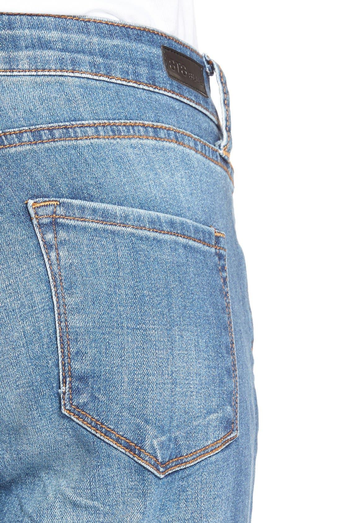 Alternate Image 5  - STS Blue 'Tomboy' High Rise Boyfriend Jeans (Pismo Beach)