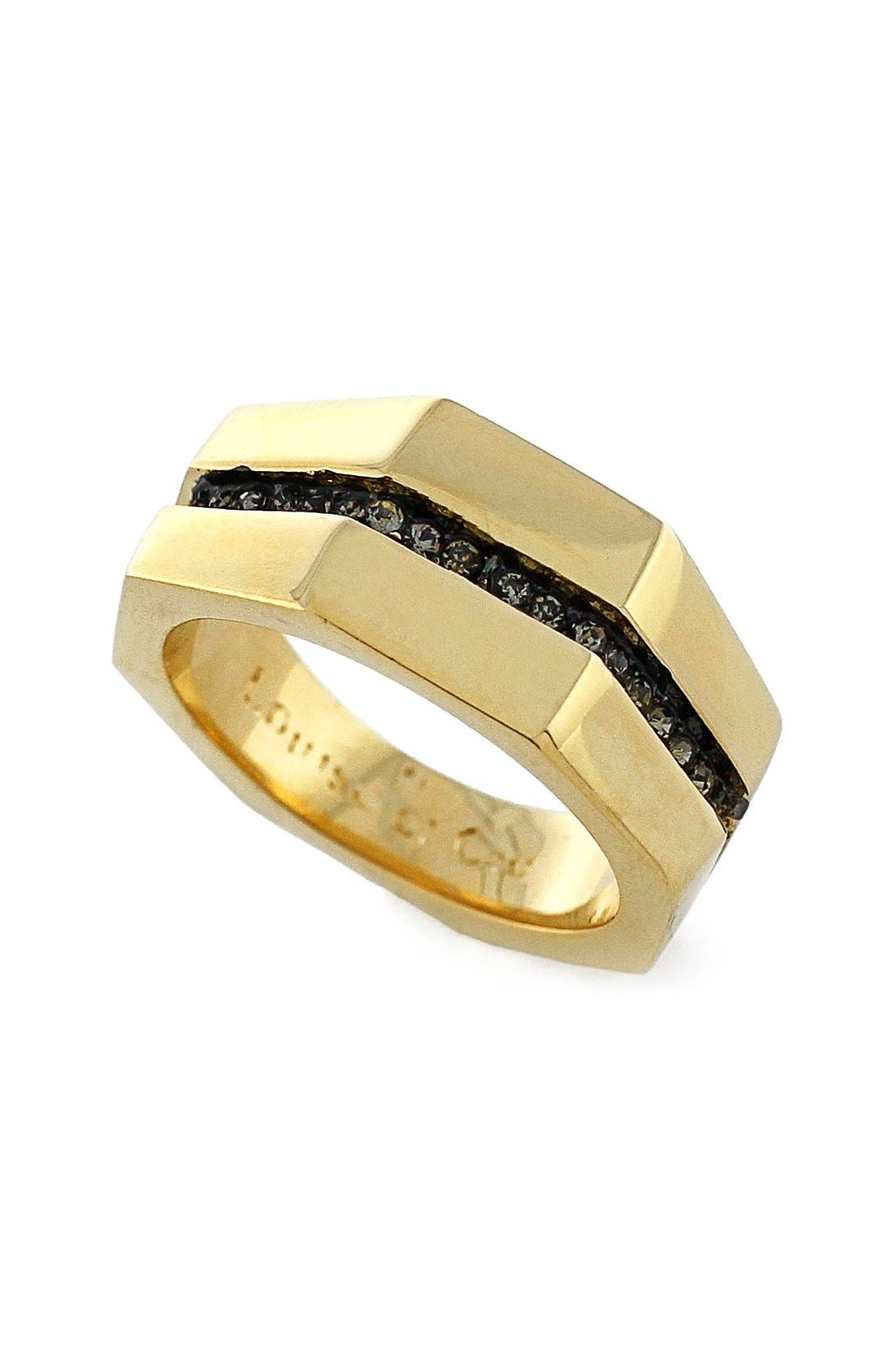 Alternate Image 1 Selected - Louise et Cie 'Kammenstrat' Split Pavé Band Ring