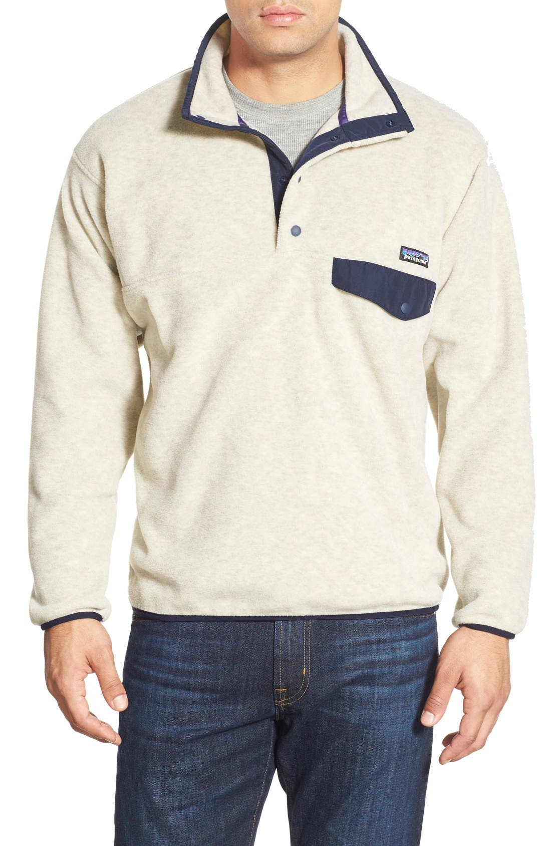 Alternate Image 1 Selected - Patagonia 'Synchilla® Snap-T' Pullover