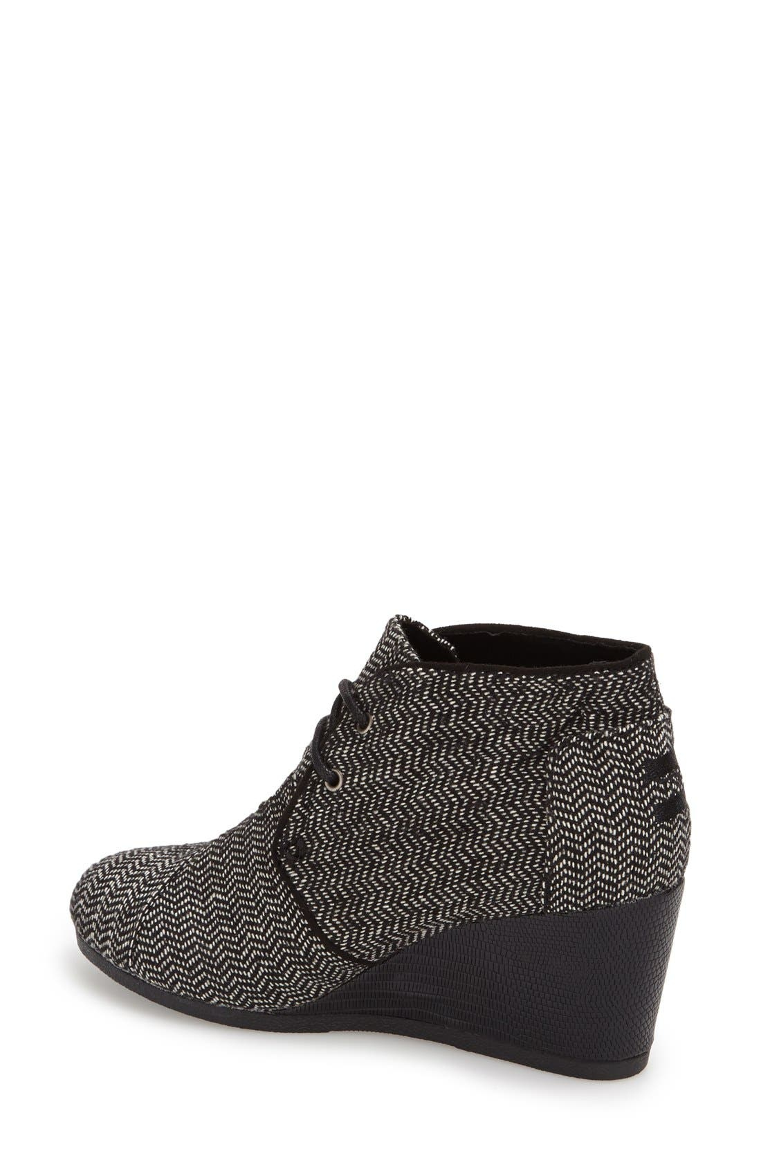 Alternate Image 2  - TOMS 'Desert' Wedge Bootie (Women)