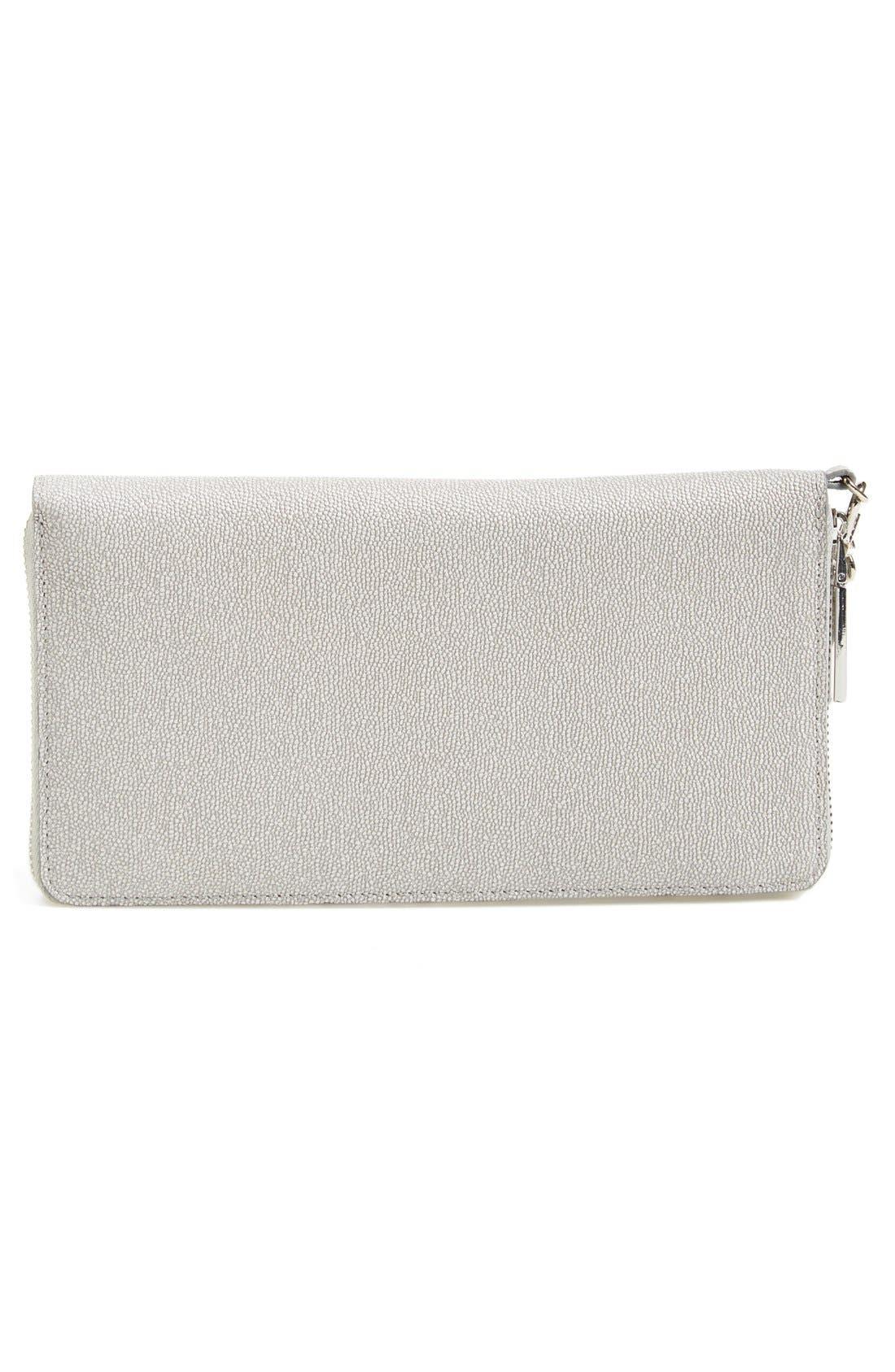 Alternate Image 7  - Halogen® Zip Around Leather Wallet