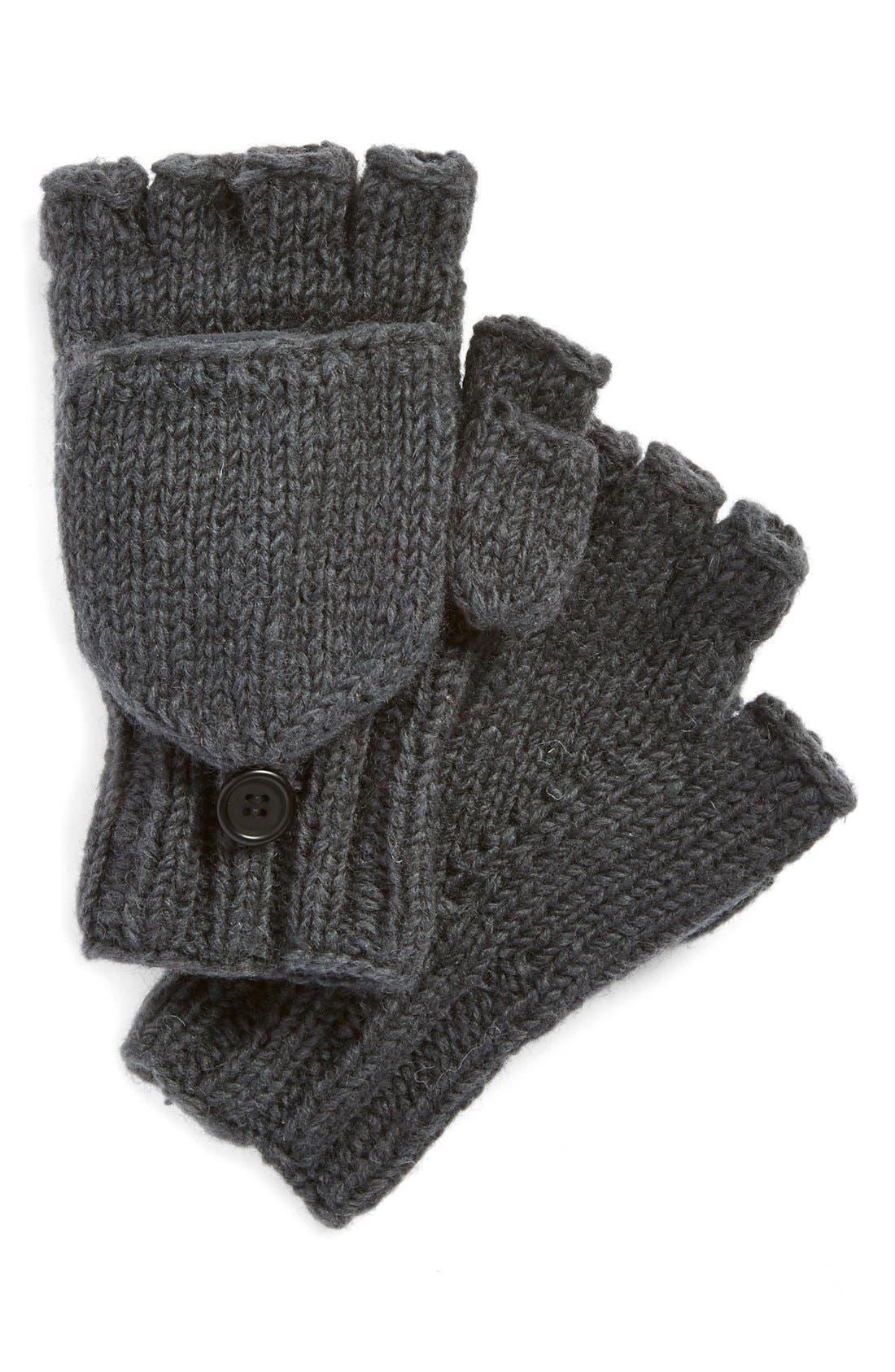 Alternate Image 1 Selected - Nirvanna Designs Convertible Fingerless Gloves
