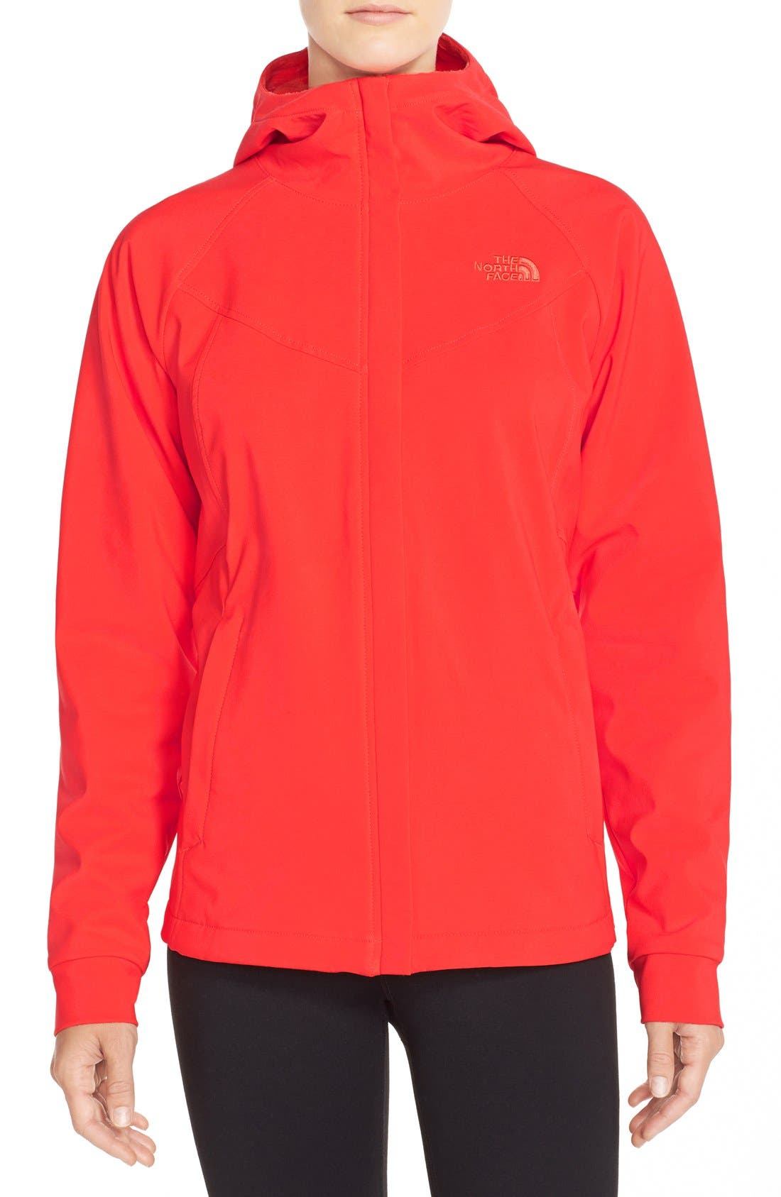 Alternate Image 1 Selected - The North Face 'Maddie Raschel' Soft Shell Jacket