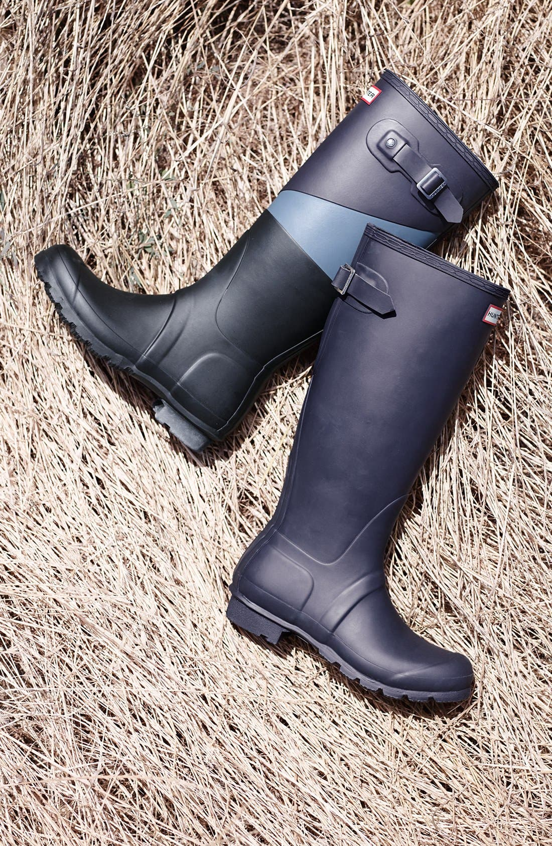 Alternate Image 5  - Hunter 'Original - Asymmetric Colorblock' Waterproof Rain Boot (Women)