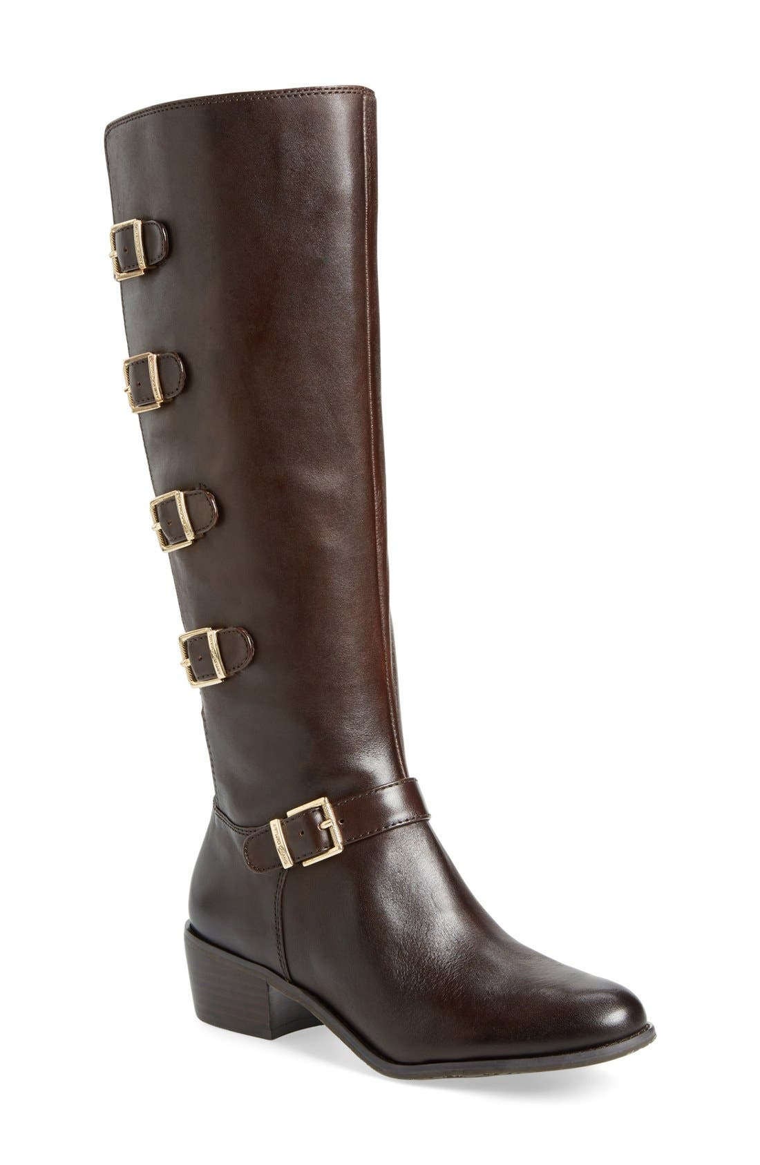 Alternate Image 1 Selected - Arturo Chiang'Beacon' Tall Buckle Boot (Women)