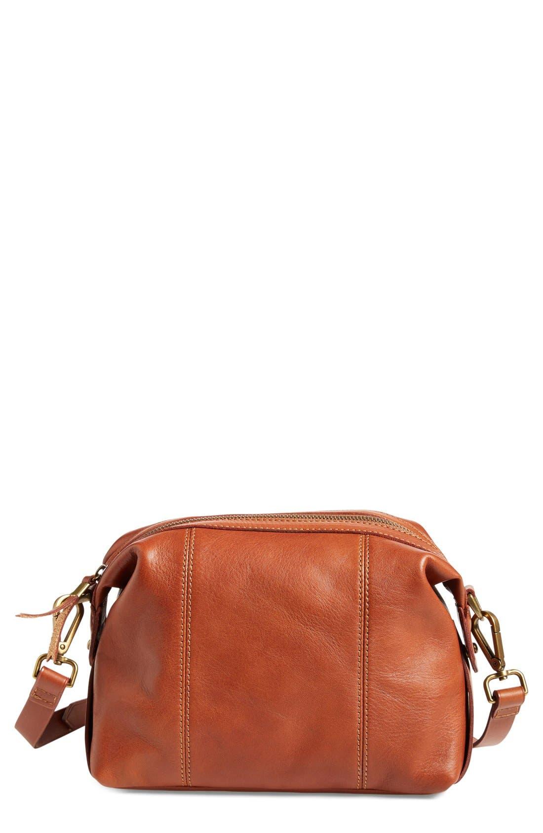 Alternate Image 1 Selected - Madewell 'Mini Glasgow' Leather Crossbody Bag