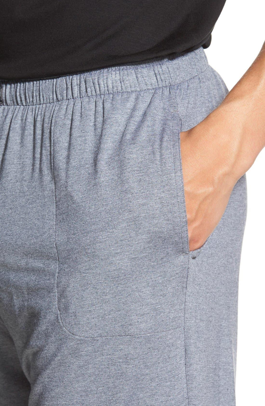 Alternate Image 4  - Derek Rose 'Marlowe' Stretch Modal Lounge Shorts