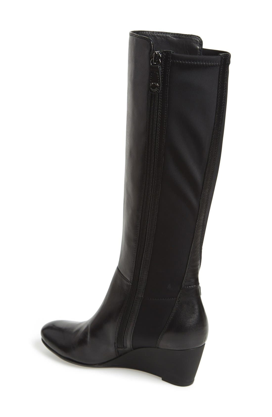 Alternate Image 2  - Geox'Venere' Tall Wedge Boot (Women)
