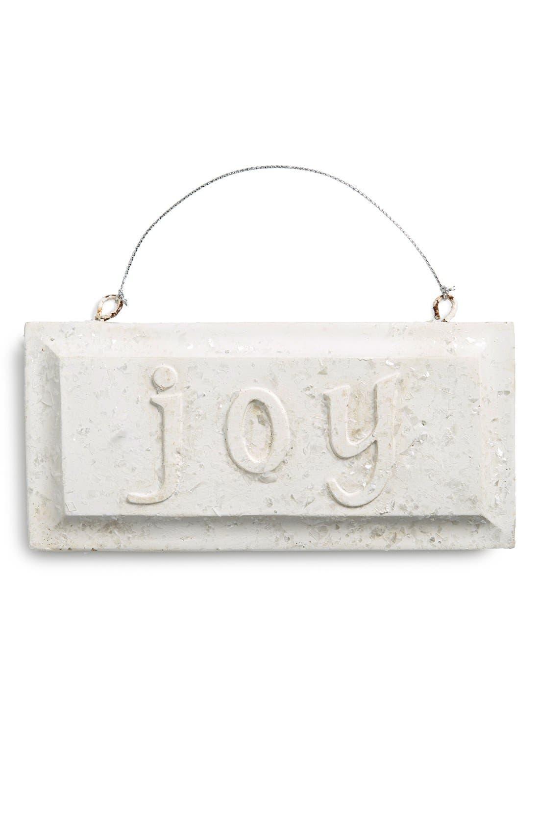 Main Image - K & K Interiors Glitter Message Ornament