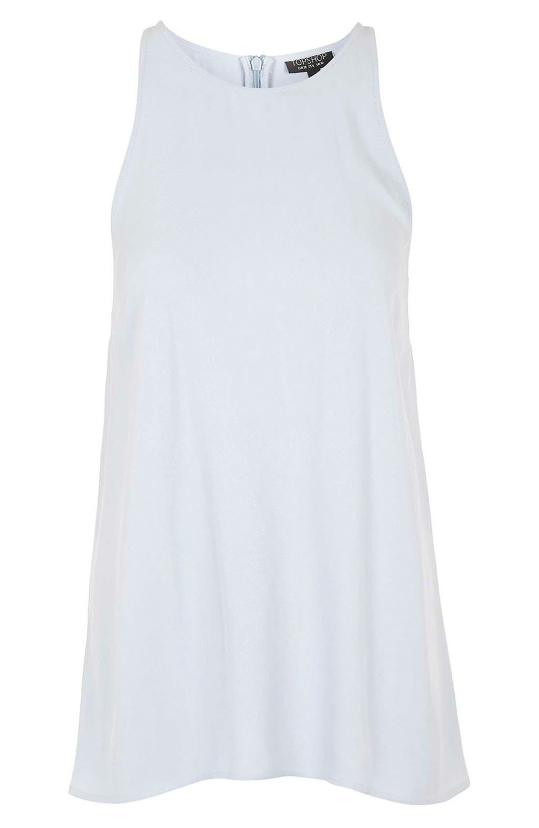Alternate Image 5  - Topshop 'Milo' Split Back Sleeveless Top