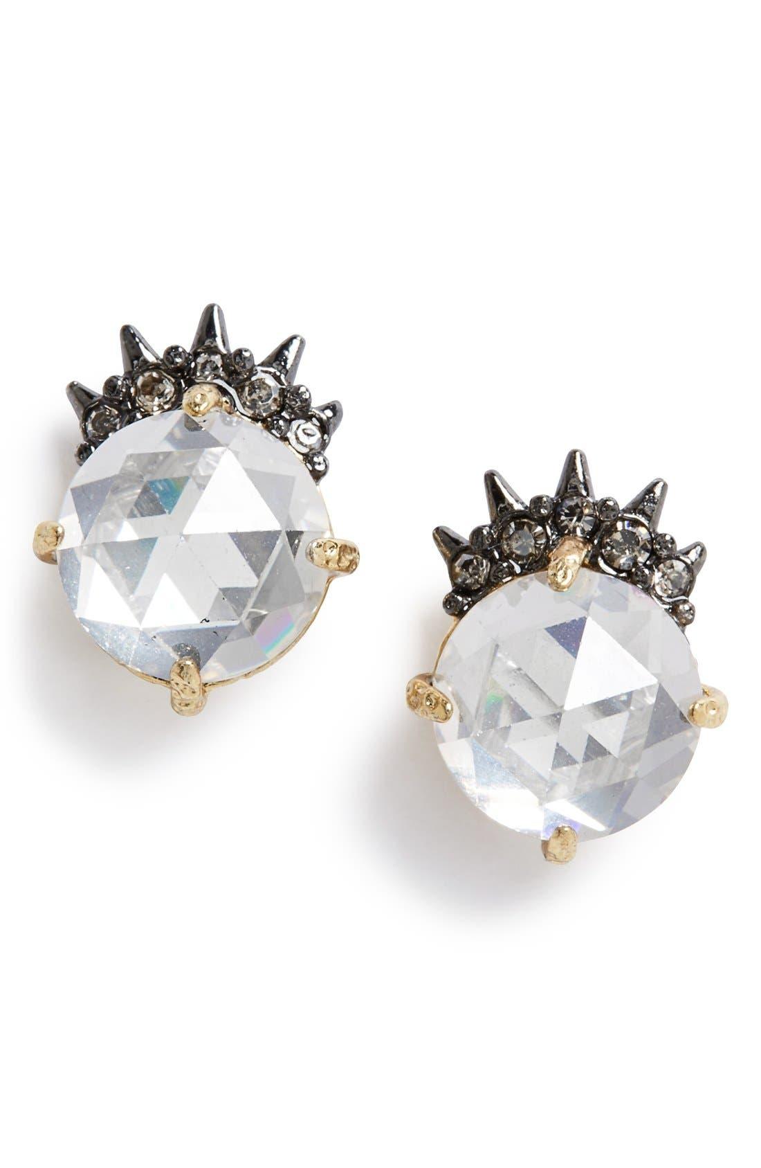 Alternate Image 1 Selected - Alexis Bittar'Elements'Spiked Crystal Stud Earrings
