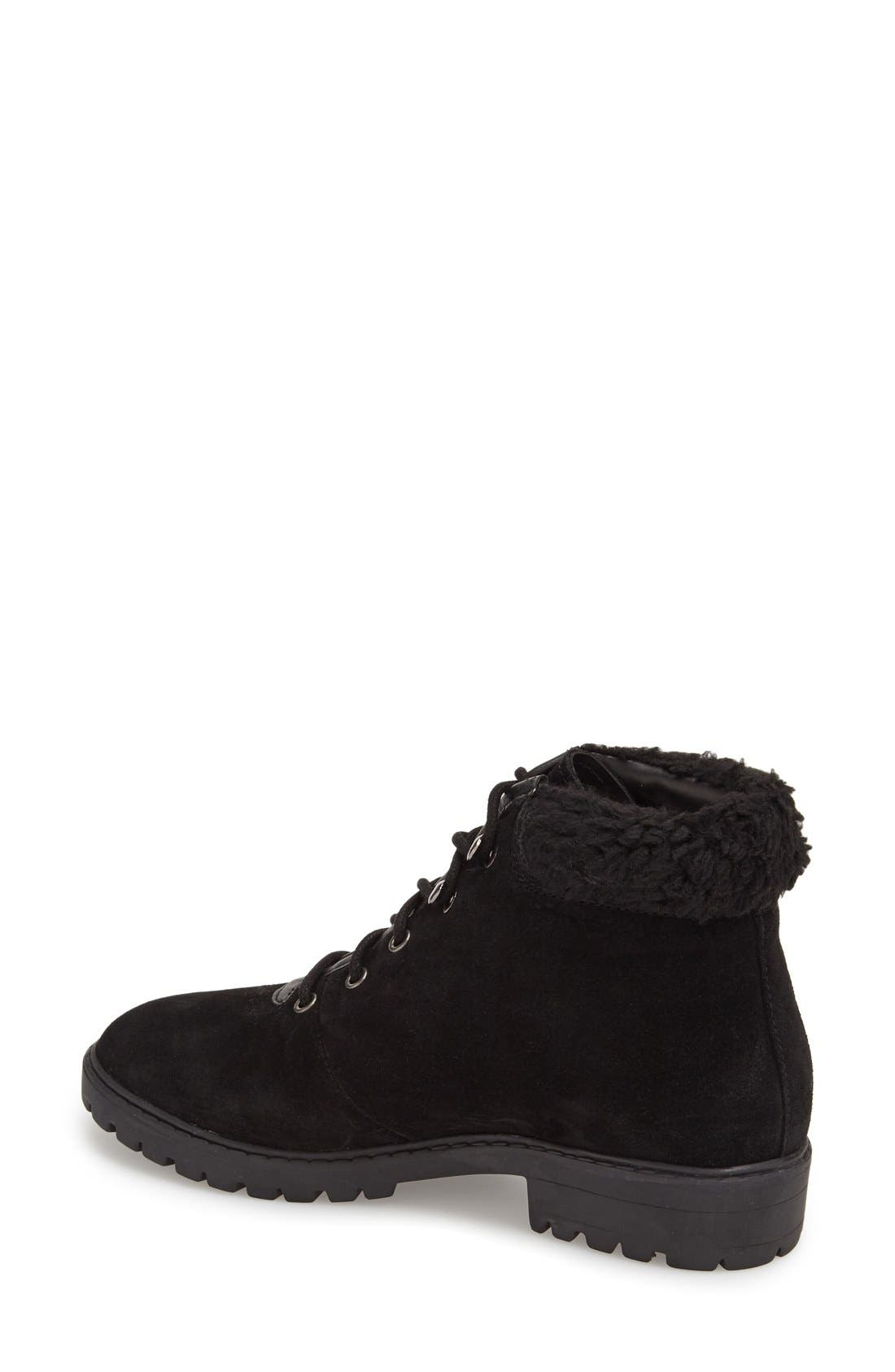 Alternate Image 2  - Topshop 'Birdy' Lace-Up Boot (Women)