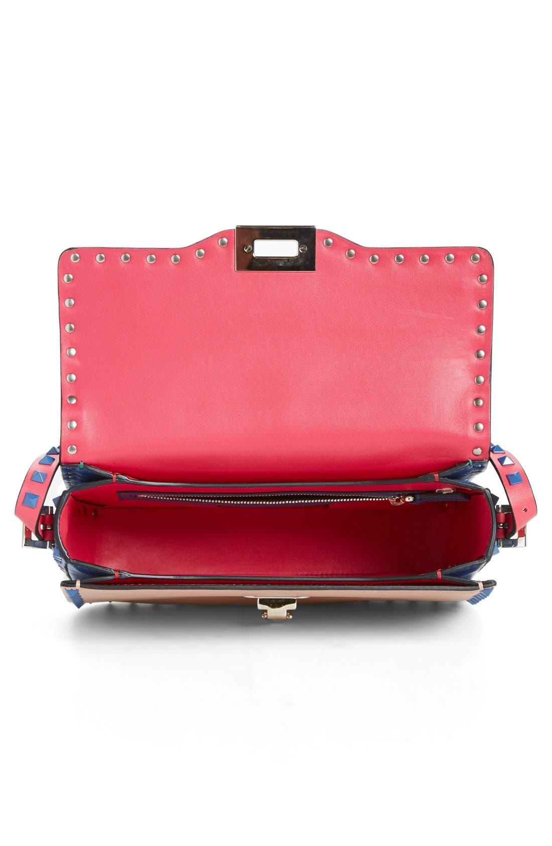 Alternate Image 3  - Valentino 'Rockstud' Colorblock Shoulder Bag