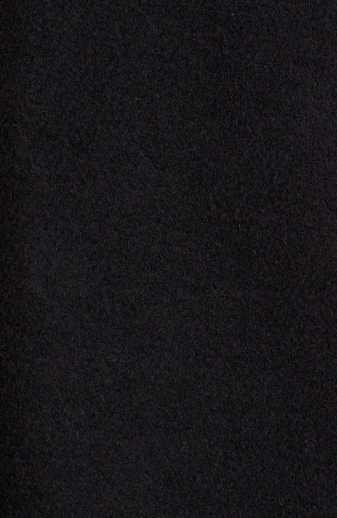 Alternate Image 5  - Eliza J Wool Blend Long Military Coat (Regular & Petite)
