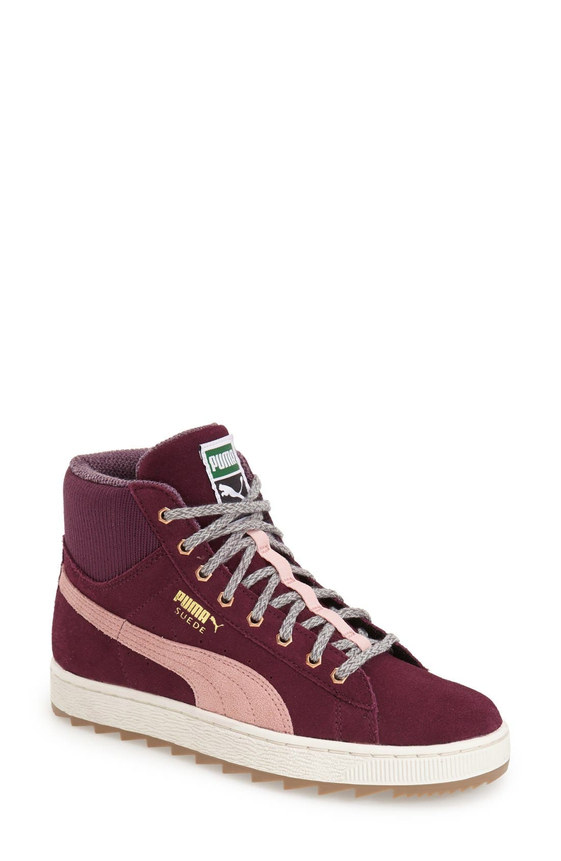 Alternate Image 1 Selected - PUMA 'Suede Rugged' High Top Sneaker (Women)