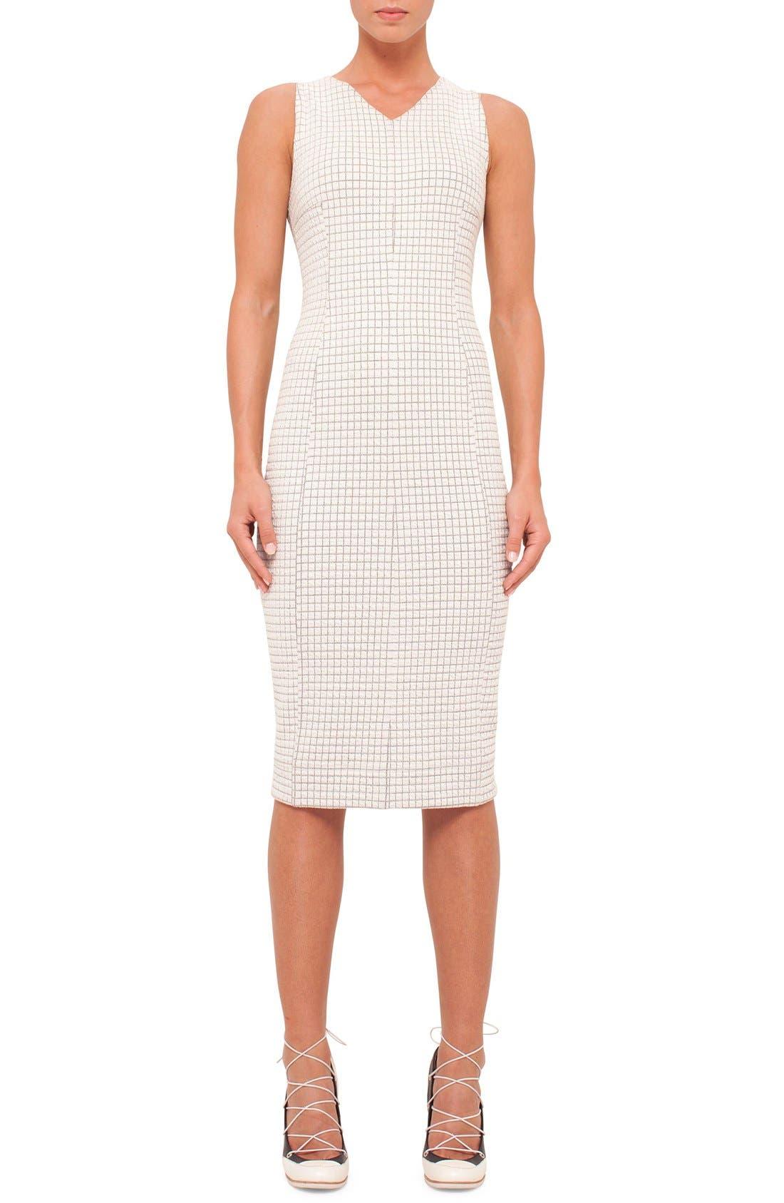 Main Image - Akris punto Sleeveless Jersey Dress