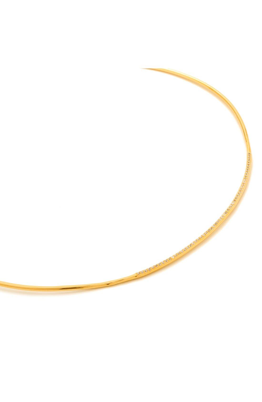 Alternate Image 2  - gorjana 'Petra' Pavé Choker Necklace