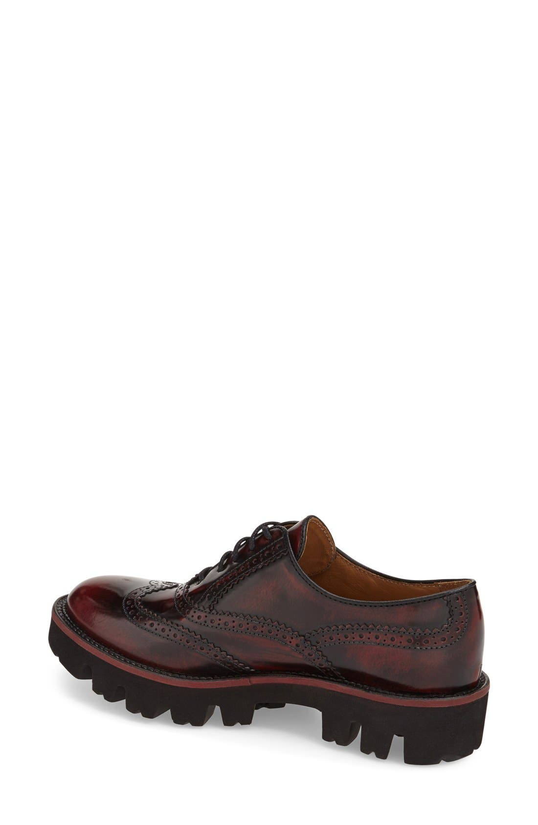 Alternate Image 2  - Rokail Wingtip Oxford (Women)