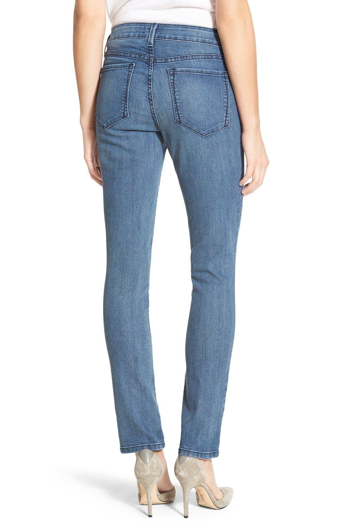 Alternate Image 2  - NYDJ 'Sheri' Stretch Skinny Jeans (Karval) (Regular & Petite)