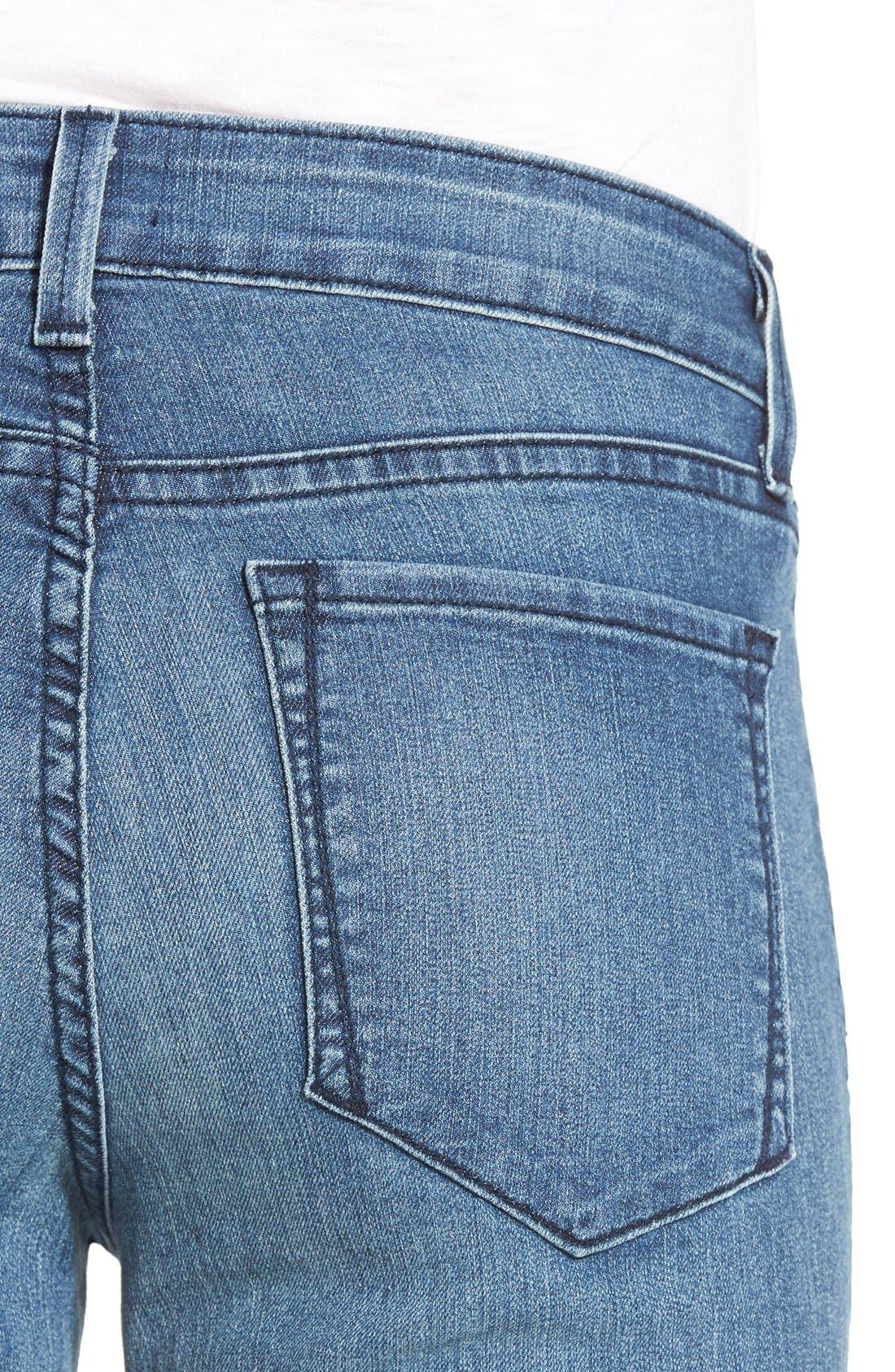 Alternate Image 4  - NYDJ 'Sheri' Stretch Skinny Jeans (Karval) (Regular & Petite)