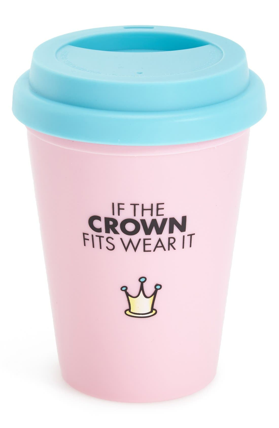 Alternate Image 2  - Wild & Wolf 'Little Miss Princess' Travel Mug