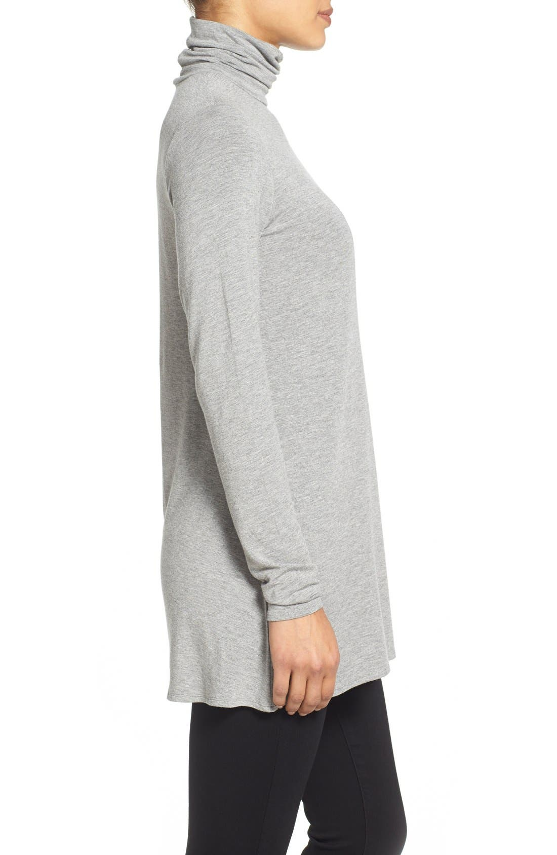 Alternate Image 3  - Eileen Fisher Scrunch Neck Tunic