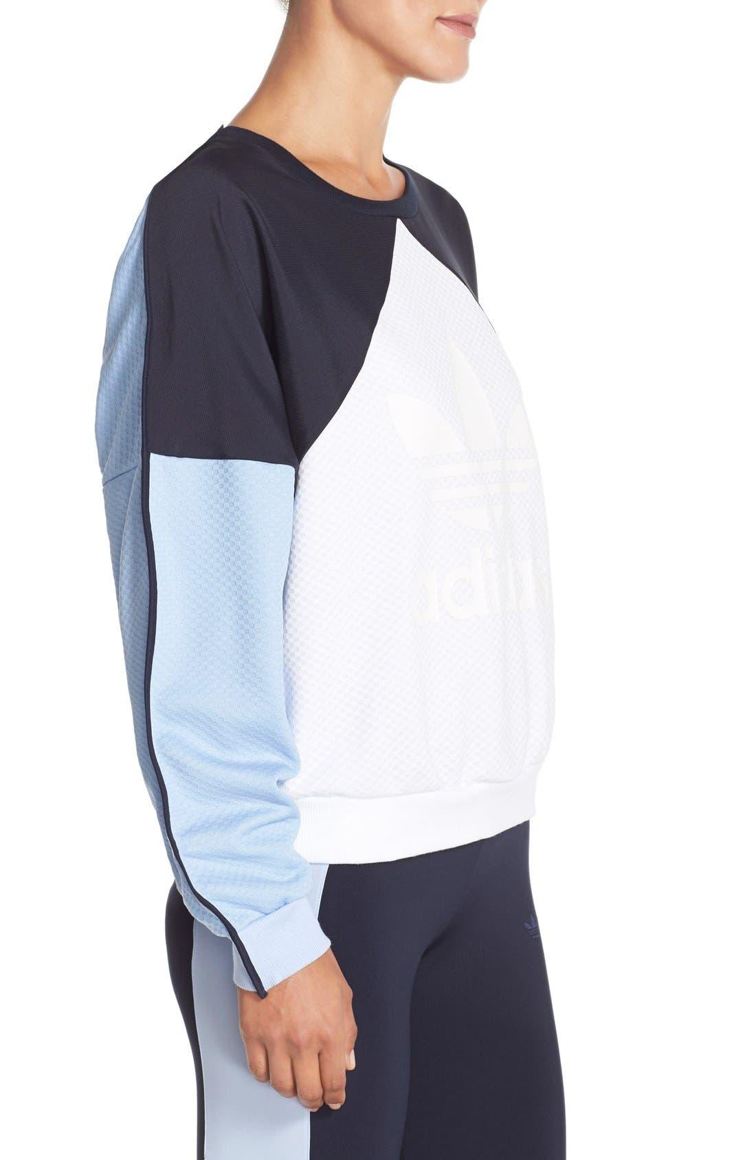 Alternate Image 3  - adidas Originals 'Helsinki' Crewneck Sweatshirt