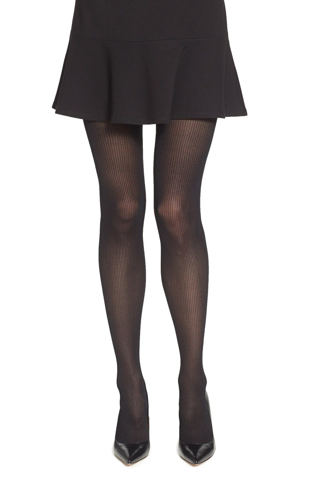 Alternate Image 1 Selected - Chelsea28 Ribbed Tights