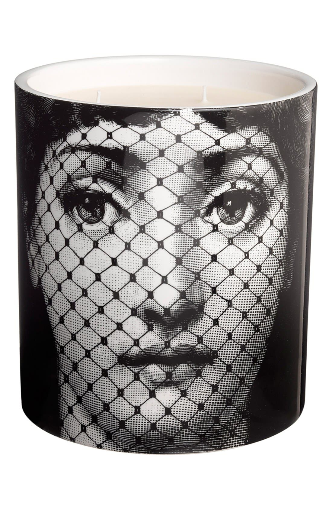 Alternate Image 1 Selected - Fornasetti 'Burlesque - Otto' Large Candle