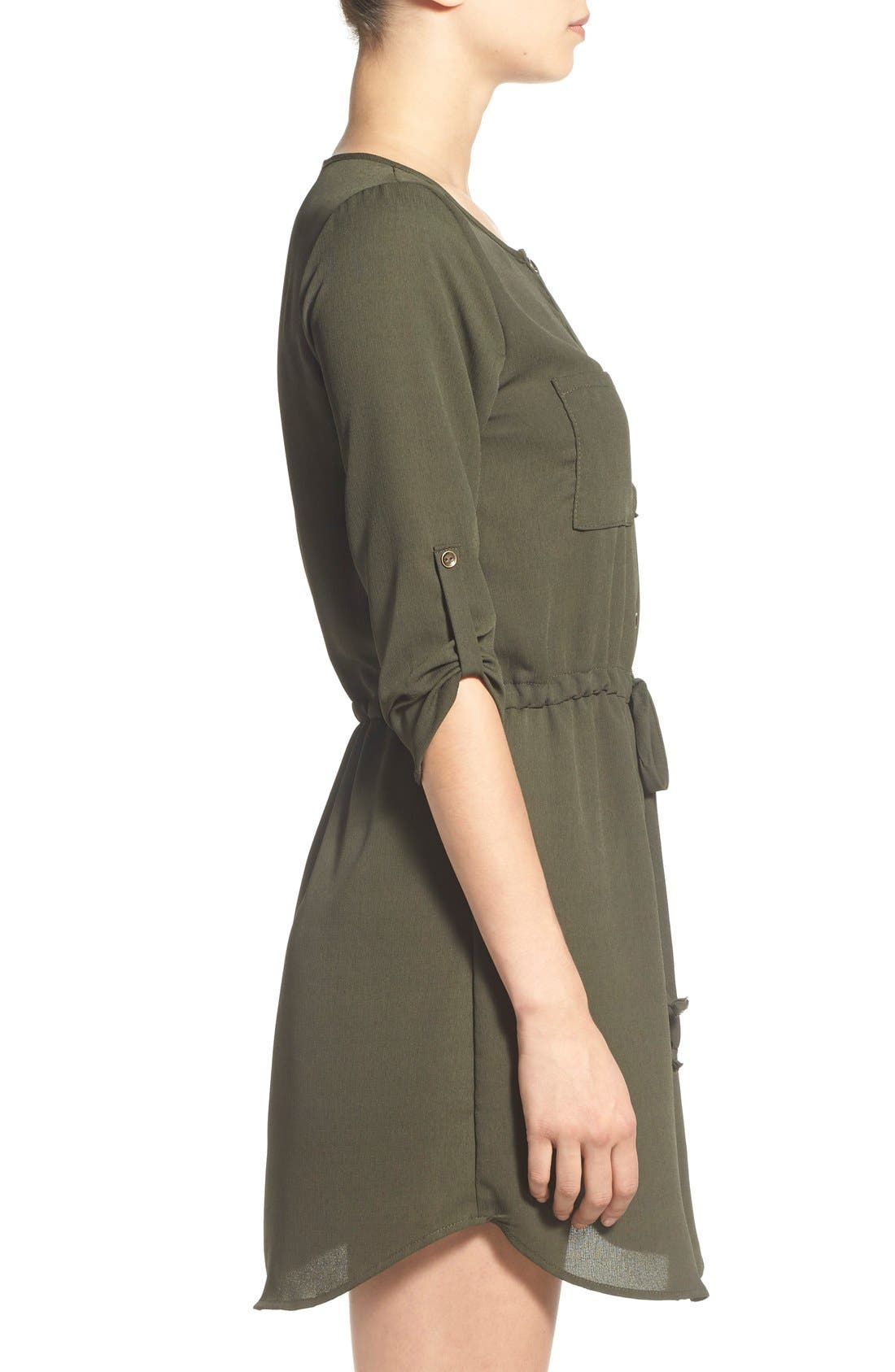 Alternate Image 3  - jella c. Henley Shirtdress