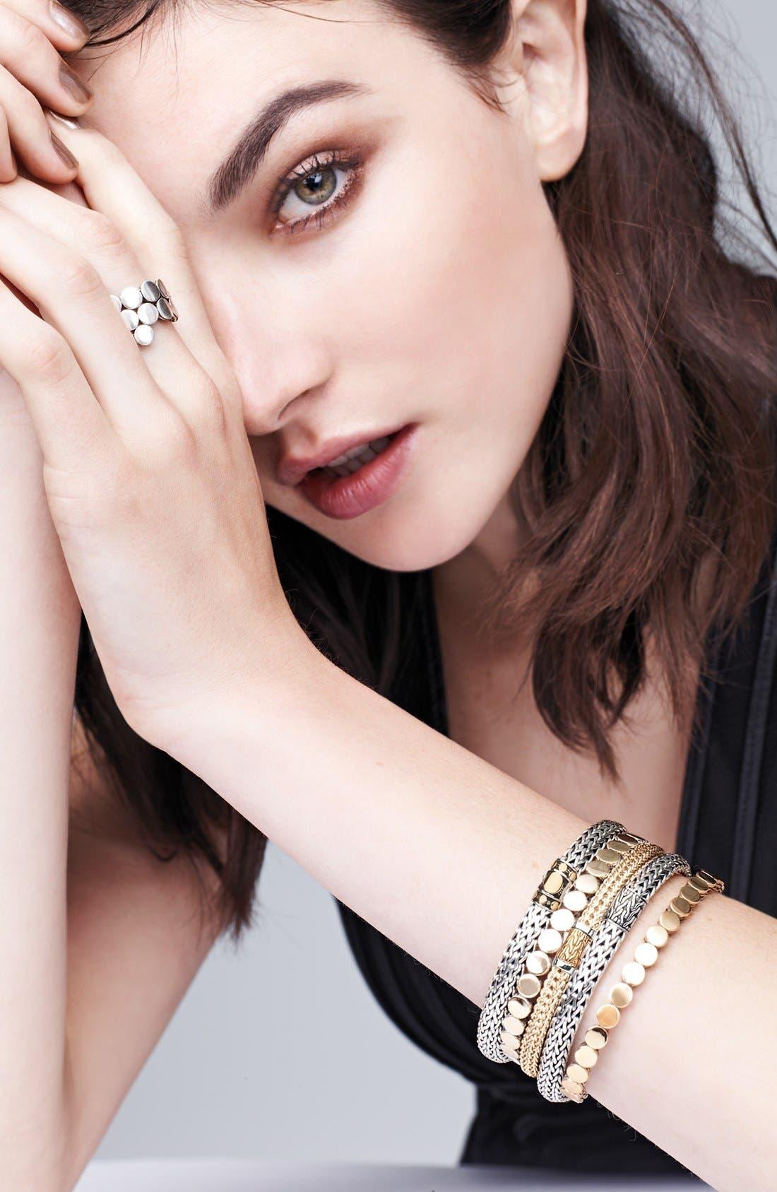 Alternate Image 3  - John Hardy 'Dot' Gold & Silver Chain Bracelet