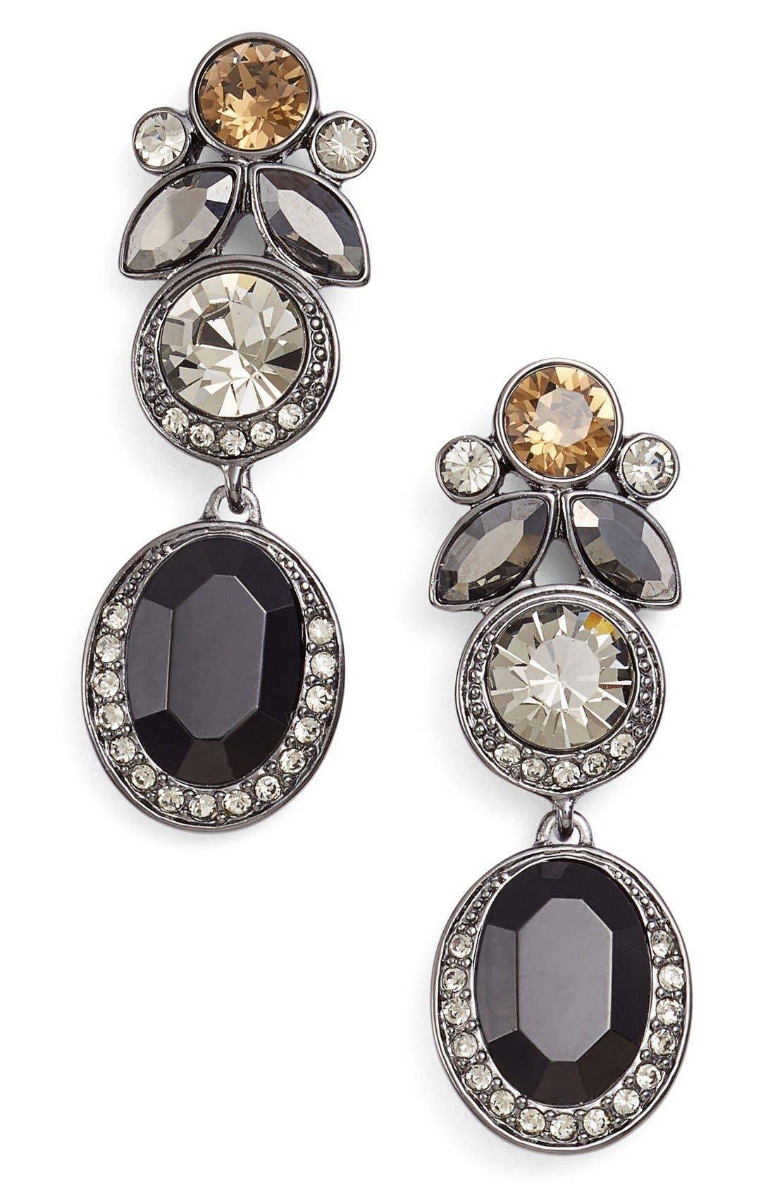 Main Image - Givenchy Jeweled Drop Earrings