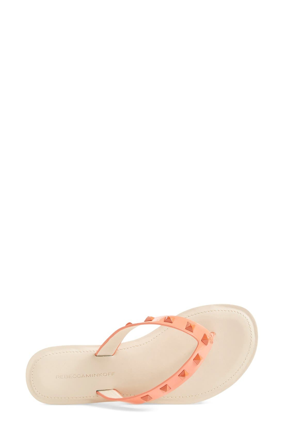 Alternate Image 3  - Rebecca Minkoff 'Fiona' Thong Sandal (Women)