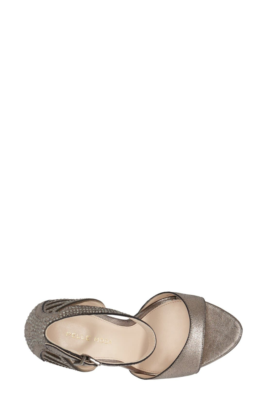 Alternate Image 3  - Pelle Moda 'Fenton' Ankle Strap Sandal (Women)