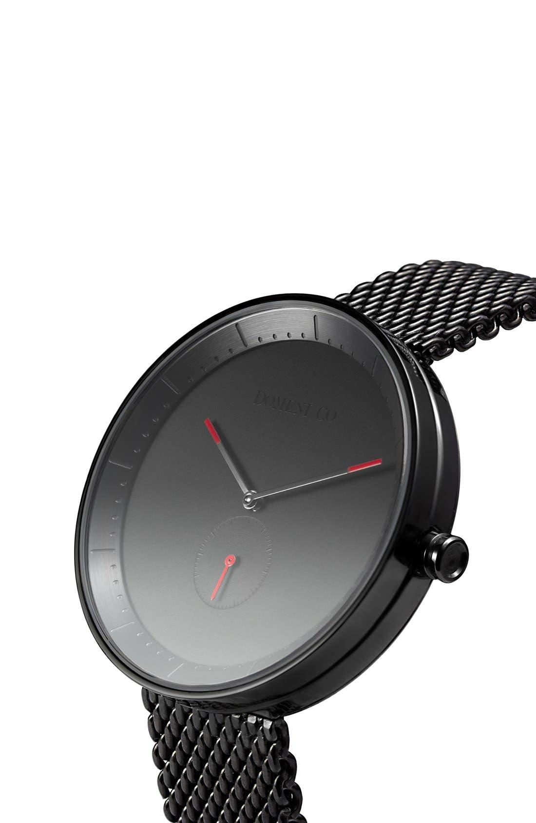 Alternate Image 2  - Domeni 'Signature' Mesh Strap Watch, 40mm