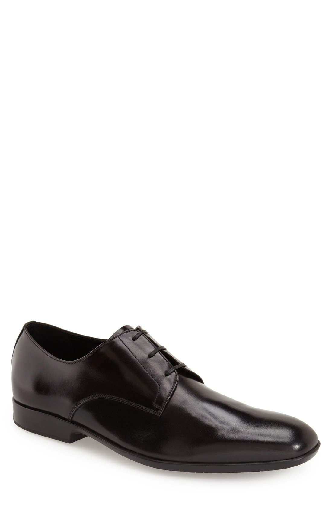 Alternate Image 1 Selected - Salvatore Ferragamo 'Laurent' Plain Toe Derby (Men)