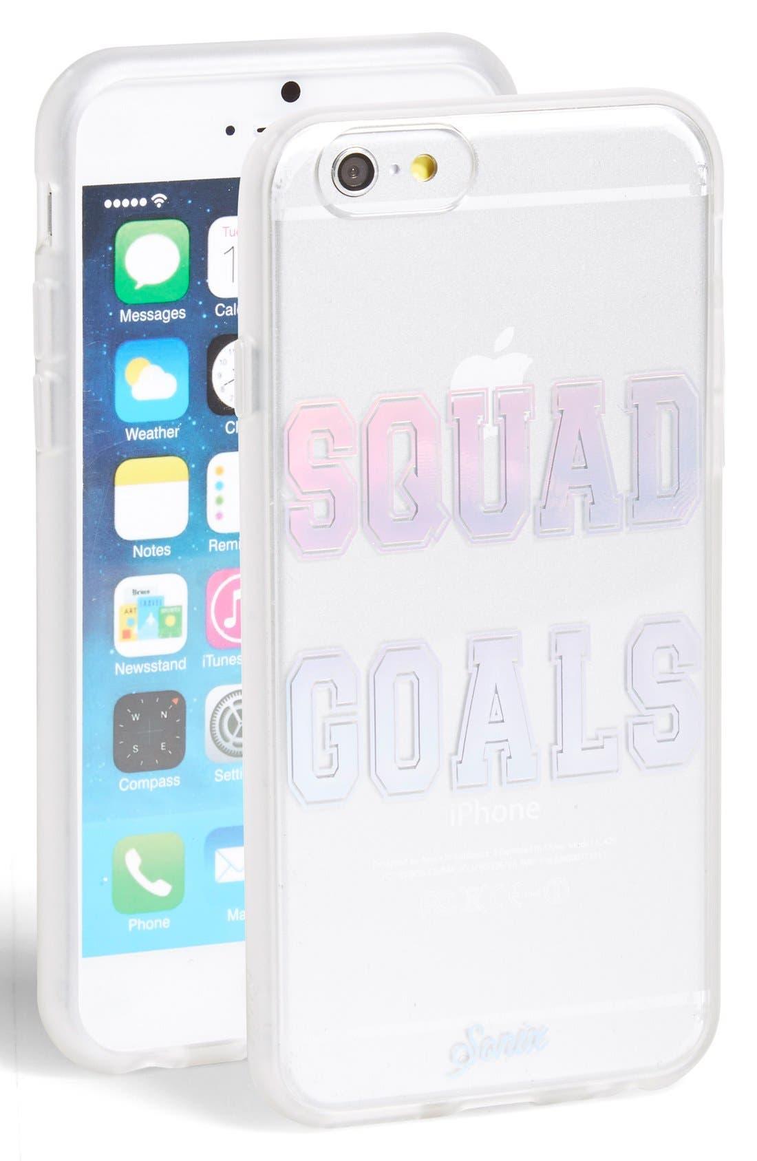 Main Image - Sonix 'Squad Goals' iPhone 6 & 6s Case