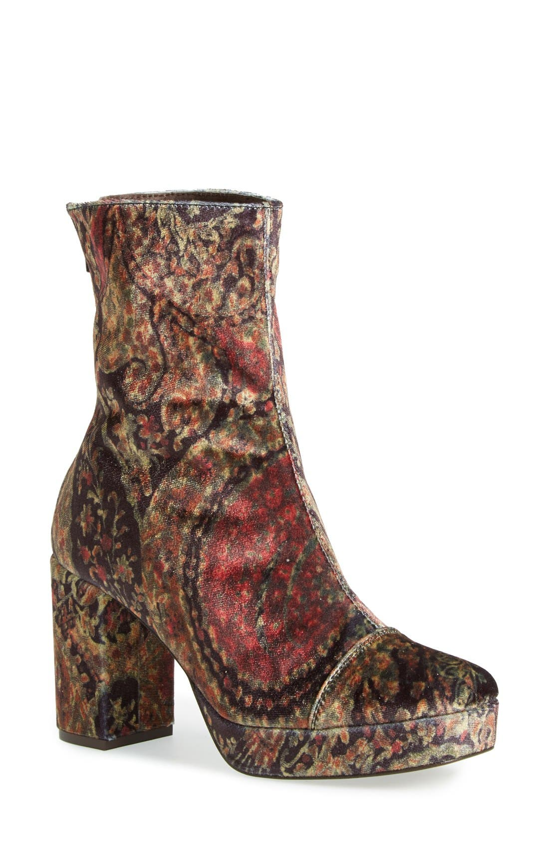 Alternate Image 1 Selected - Free People 'Day for Night' Platform Boot (Women)