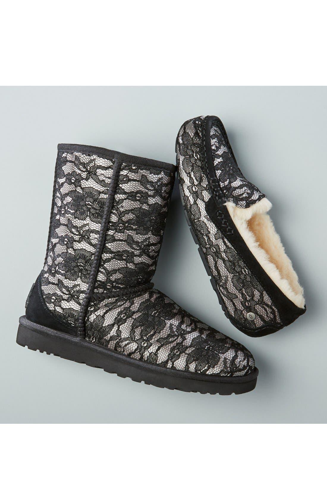 Alternate Image 5  - UGG® 'Classic Short Antoinette' Boot (Women)