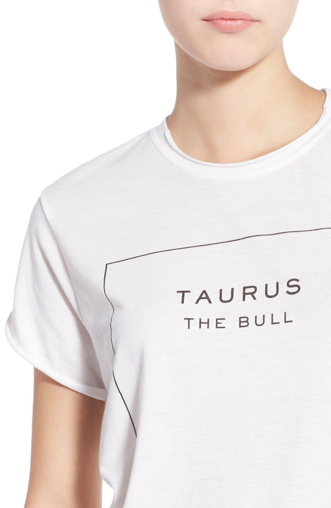 Alternate Image 4  - The Laundry Room 'Taurus' Tee