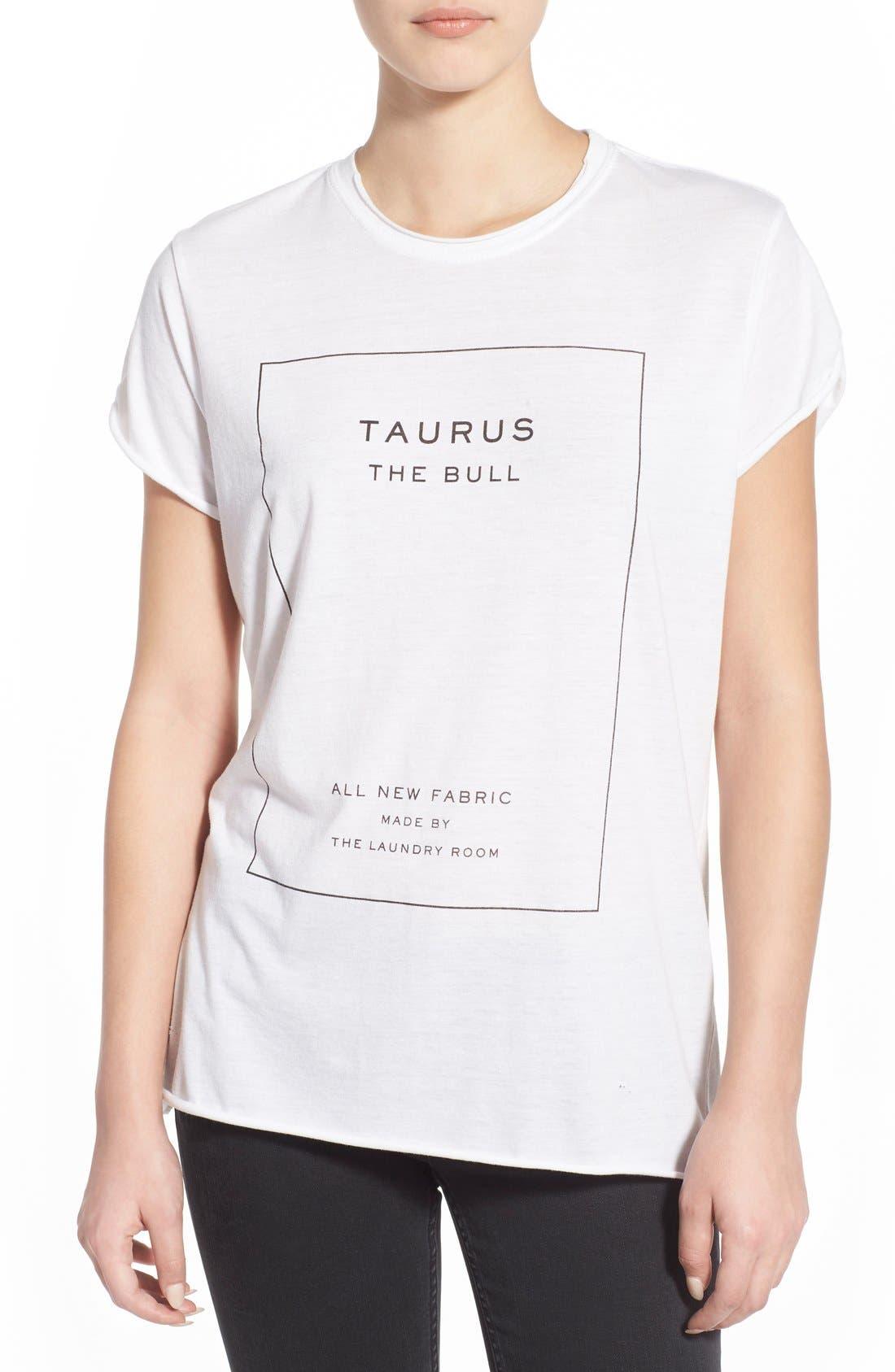 Alternate Image 1 Selected - The Laundry Room 'Taurus' Tee
