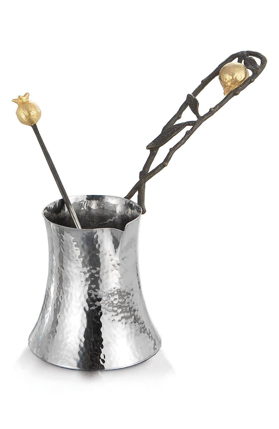 Michael Aram 'Pomegranate' Coffee Pot with Spoon
