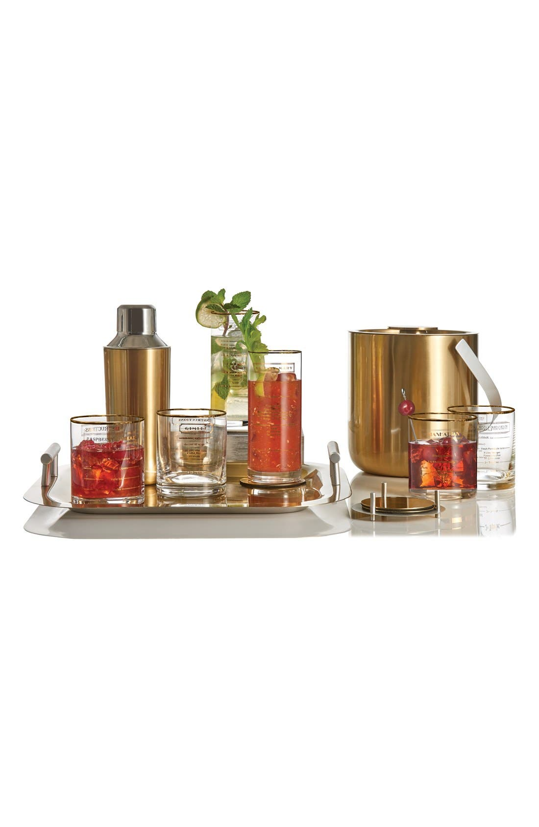 Alternate Image 3  - Marquis by Waterford 'Recipe' Highball Glasses (Set of 4)