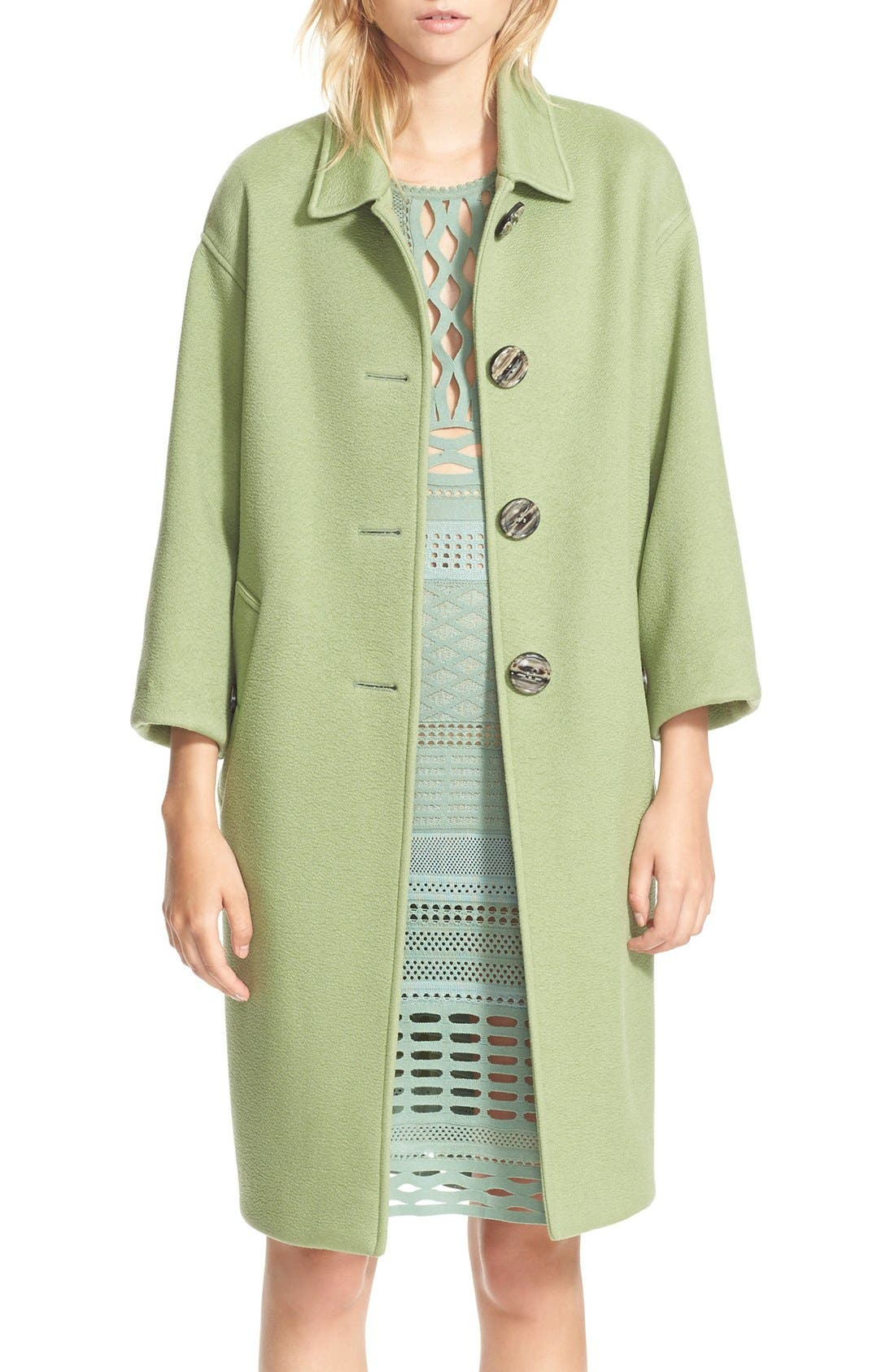 Alternate Image 1 Selected - Burberry Prorsum Cashmere Coat