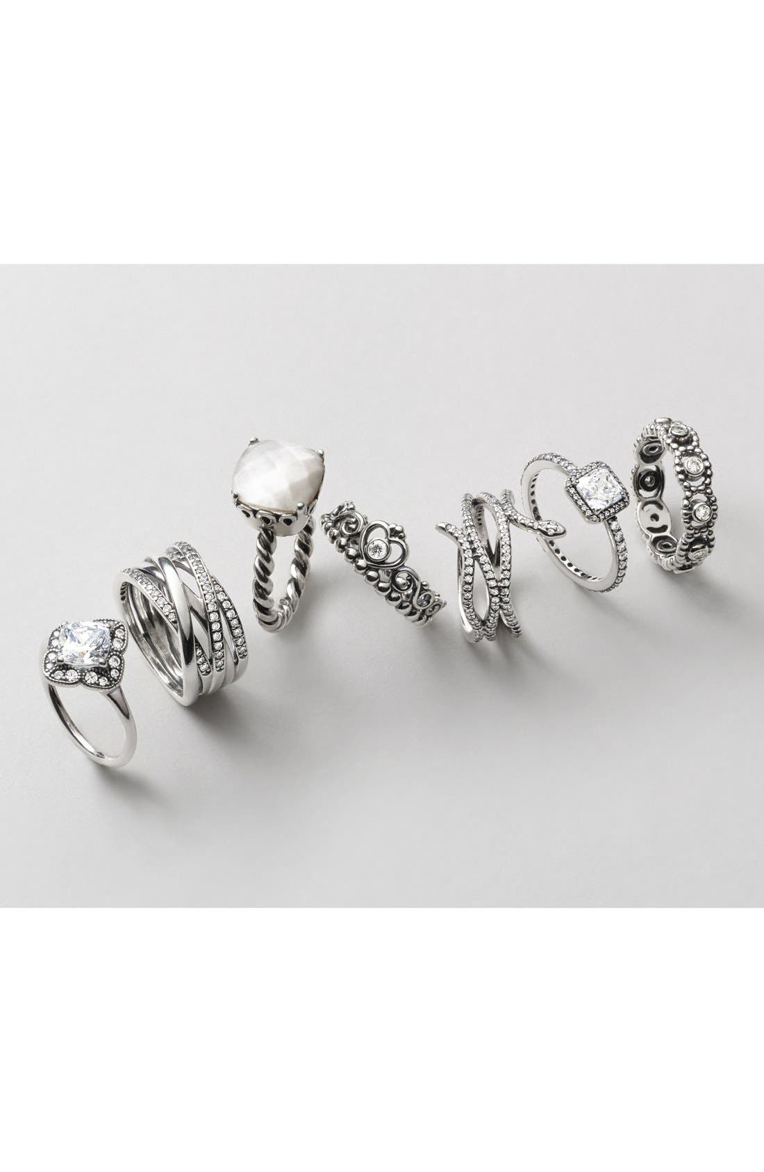 Alternate Image 2  - PANDORA 'Her Majesty' Band Ring